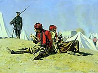 Two hawks (Bashi-bazouk), 1879, vereshchagin