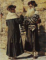 Two Jews, 1884, vereshchagin