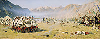 Unawares attack, 1871, vereshchagin
