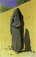 Uzbek Woman in Tashkent, 1873, vereshchagin