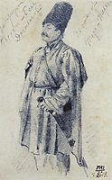 Warrant Officer Hassan-Beck Dzhagranov, 1864, vereshchagin