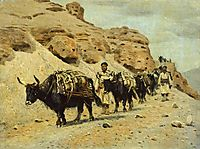 Yaqui, 1875, vereshchagin