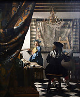 The Allegory of Painting -or- The Art of Painting, ~1666, vermeer