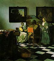 The concert, 1664-1667, vermeer