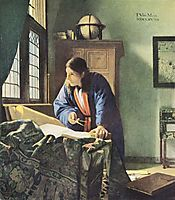The Geographer, 1669, vermeer