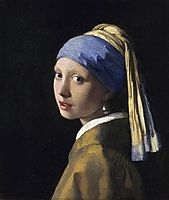The Girl With The Pearl Earring, ~1665, vermeer