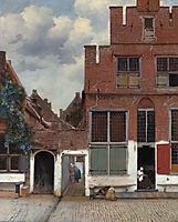 The Lane, 1657-1661, vermeer