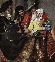 The Procuress, 1656, vermeer