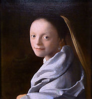 Study of a young woman, c.1667, vermeer