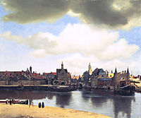 View on Delft , c.1661, vermeer