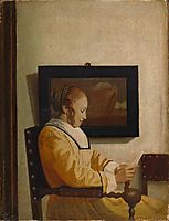 A Young Woman Reading , vermeer