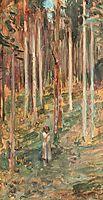 Birch Wood, 1902, vermont