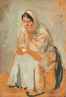 Gypsy Woman (Study), 1918, vermont