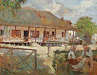 Noon in the Village, 1923, vermont
