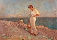 On the Seashore, 1913, vermont