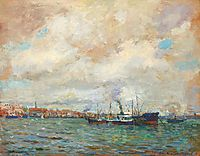 Rotterdam Port, 1928, vermont