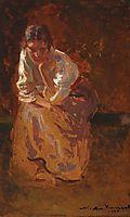 Thinking, 1924, vermont