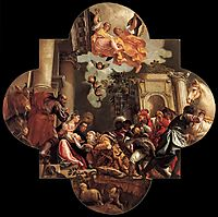 Adoration of the Magi, 1582, veronese