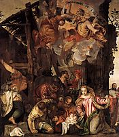 Adoration of the Shepherds, veronese