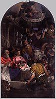 Adoration of the Shepherds, 1582-83, veronese