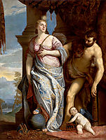 Allegory of Wisdom and Strength( The Choice of Hercules or Hercules and Omphale), 1584, veronese