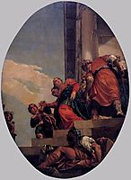 The Banishment of Vashti, 1556, veronese
