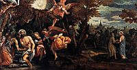Baptism and Temptation of Christ, 1580-82, veronese