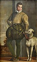 Boy with a Greyhound, veronese