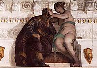 Chance Crowning a Sleeping Man, 1560-61, veronese