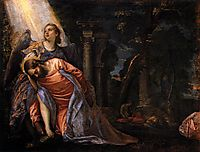 Christ in the Garden of Gethsemane, 1583-84, veronese