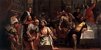 Christ Washing the Feet of the Disciples, 1580, veronese