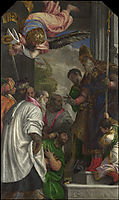 The Consecration of Saint Nicholas, veronese