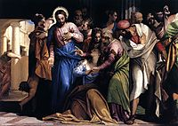 Conversion of Mary Magdalene, c. 1547, veronese