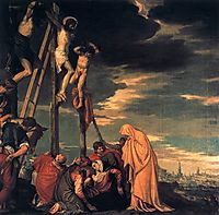 Crucifixion, 1582, veronese