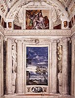 End wall of the Stanza del Cane, 1560-61, veronese