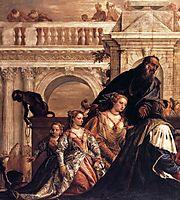 The Family of Darius before Alexander (detail), 1565-70, veronese