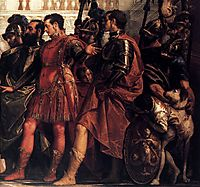 The Family of Darius before Alexander (detail), 1565-70, veronese