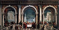 Feast in the House of Levi, 1573, veronese