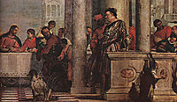 Feast in the House of Levi, detail 1, 1573, veronese