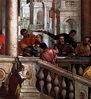 Feast in the House of Levi (detail), 1573, veronese
