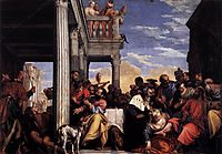 Feast in the House of Simon, 1560, veronese
