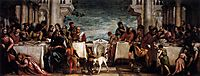 Feast at the House of Simon, 1567-70, veronese