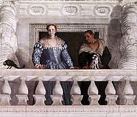 Figures behind the Parapet, 1560-61, veronese
