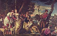 The Finding of Moses, veronese