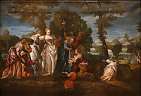 The finding of Moses, c.1580, veronese