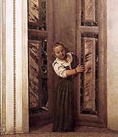 Girl in the Doorway, 1560-61, veronese