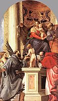 Madonna Enthroned with Saints, 1562, veronese