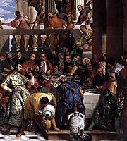 The Marriage at Cana, detail 2, 1563, veronese