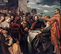Marriage at Cana (detail), 1571-72, veronese