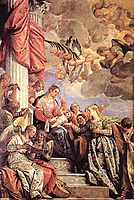 The Marriage of Saint Catherine, 1575, veronese